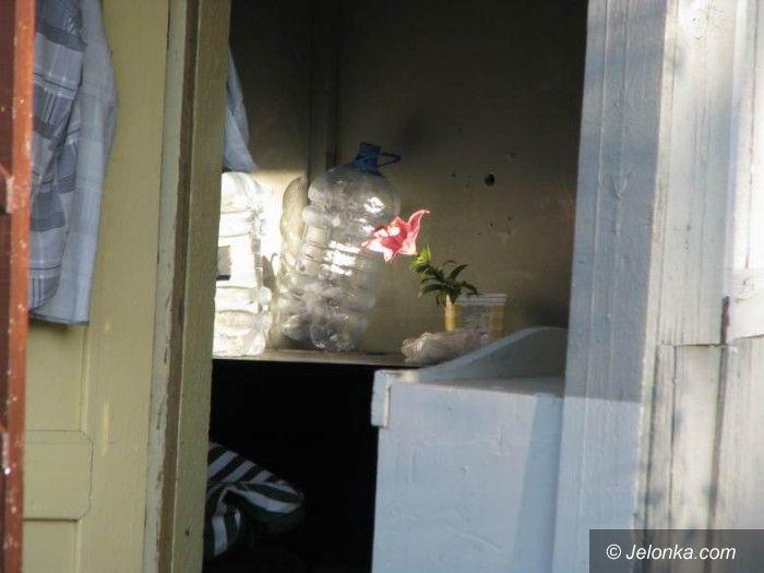 JELENIA  GÓRA: Samobójstwo w altance