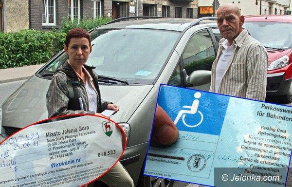 JELENIA GÓRA: Nie będzie darmowych parkingów dla niepełnosprawnych