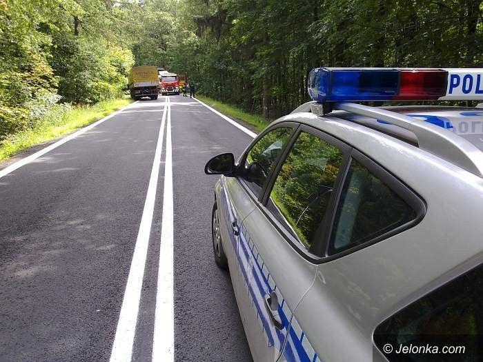 REGION: Po zderzeniu dwóch tirów w Świnach. Droga odblokowana