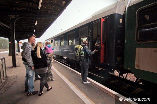 JELENIA GÓRA: W Małopolskie pociągiem codziennie. Od grudnia