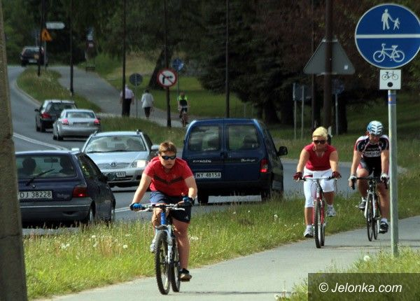 JELENIA GÓRA: Kiedy spójna sieć dróg rowerowych? W przyszłym roku