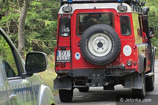 Jelenia Góra Region: Poważny wypadek podczas zjazdu z Odrodzenia