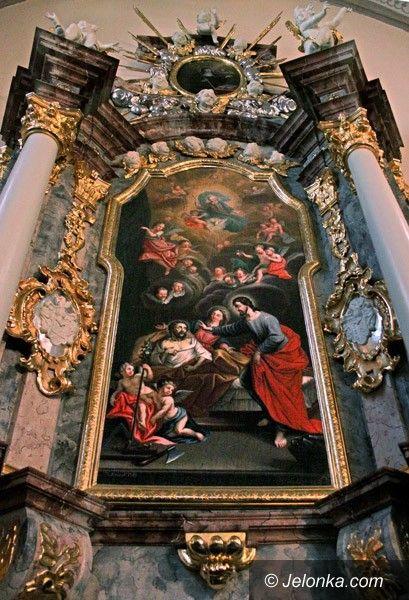 JELENIA GÓRA: Barokowy ołtarz świętego Józefa po konserwacji