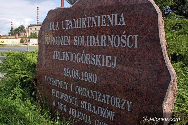 JELENIA GÓRA: W rocznicę Porozumień Sierpniowych. 31 lat minęło