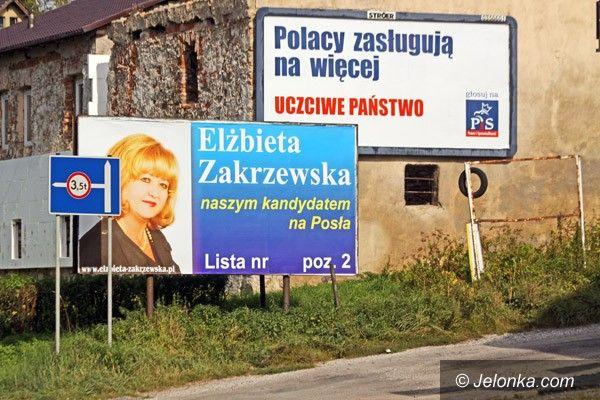 JELENIA GÓRA: Plakatowy wyścig wyborczy czas zacząć
