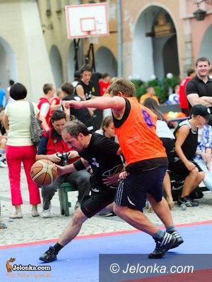 Jelenia Góra: Fotorelacja z pierwszego dnia I Turnieju Koszykówki Ulicznej