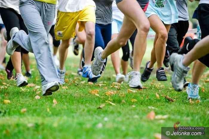 Jelenia Góra: Uczniowie szkół podstawowych biegali przełaje