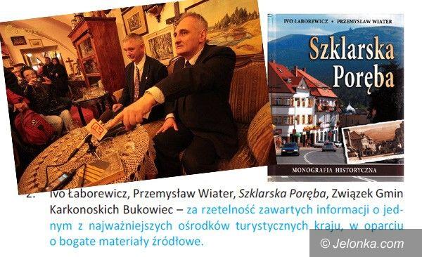 SZKLARSKA PORĘBA: Docenieni za monografię historyczną Szklarskiej Poręby