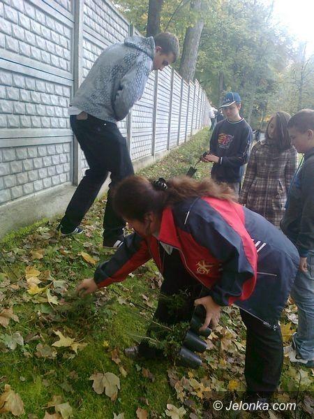 JELENIA GÓRA: Sadząc drzewa uczą się szacunku do przyrody