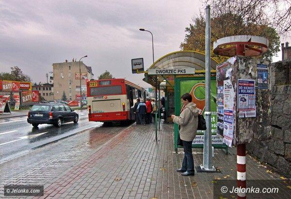 JELENIA GÓRA: Zobaczysz, kiedy przyjedzie następny autobus