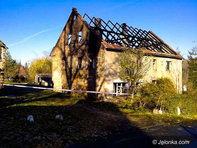 REGION JELENIOGÓRSKI: Pożar w Rybnicy. Spłonął mężczyzna