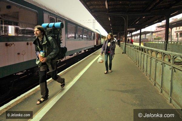 JELENIA GÓRA: Nowy rozkład jazdy. Pociągami w Polskę i nie tylko