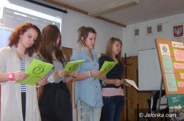 JELENIA GÓRA: Tydzień Edukacji Globalnej w Gimnazjum nr 2