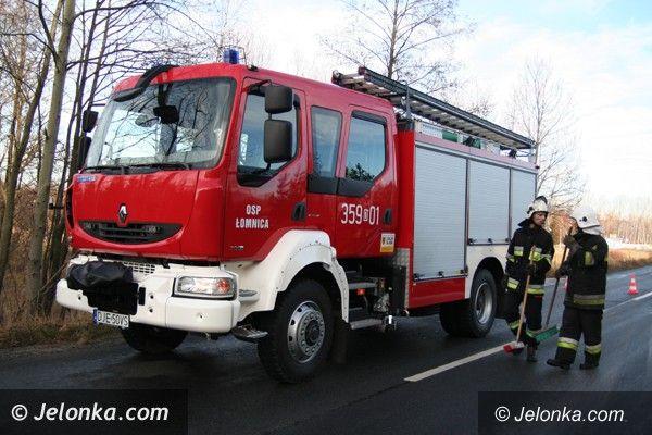 REGION JELENIOGÓRSKI: Nowy wóz gaśniczy dobrze służy ochotnikom w Łomnicy