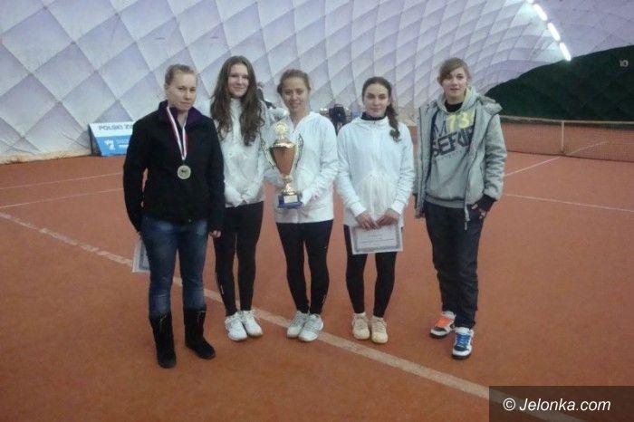 Bytom: Kolejny sukces tenisistek z Jeleniej Góry