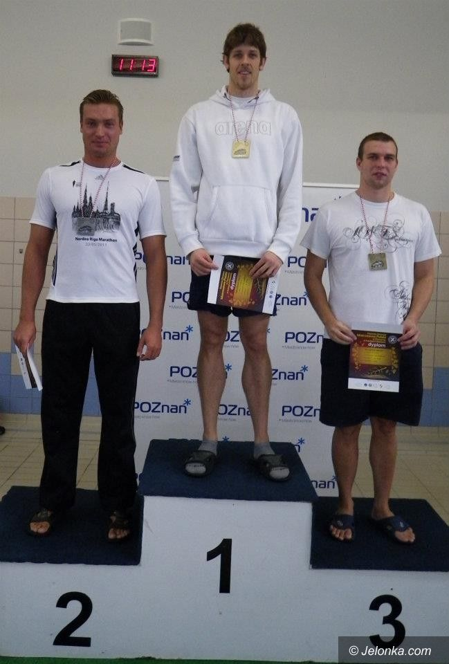 Poznań: Wicemistrz Polski z jeleniogórskiego Just Swim!