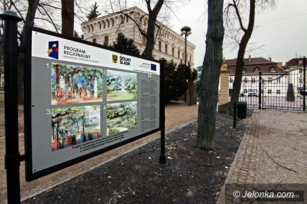 JELENIA GÓRA: Park Zdrojowy zrewitalizowany. Podsumują projekt