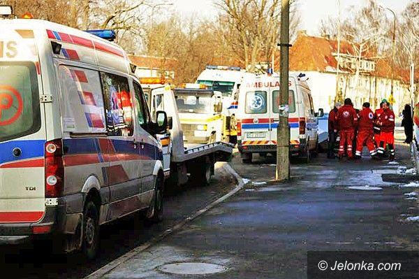 JELENIA GÓRA: Nie zauważył ambulansu na sygnale