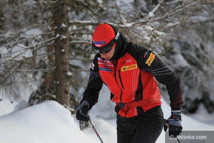 Szklarska Poręba: Justyna Kowalczyk i Marit Bjoergen testują trasę