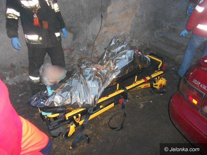 Jelenia Góra /region: Umierał pod stertą śmieci