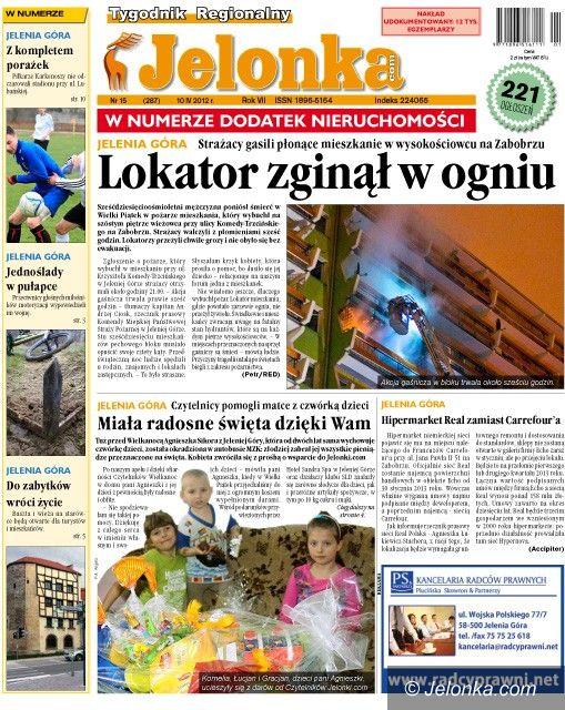 JELENIA GÓRA: Tygodnik Jelonka.com od wtorku