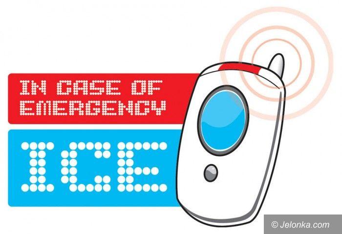 Jelenia Góra: Oznakuj w komórce numer bliskich. To może ci uratować życie!