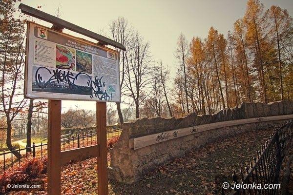Jelenia Góra: Remont dydaktycznej ścieżki na Wzgórzu Kościuszki