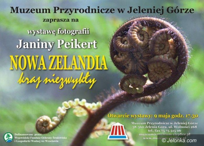Jelenia Góra: Nowa Zelandia w obiektywie Janiny Peikert
