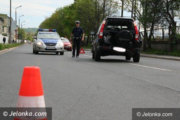Jelenia Góra: Kolizja trzech aut na ul. Wincentego Pola