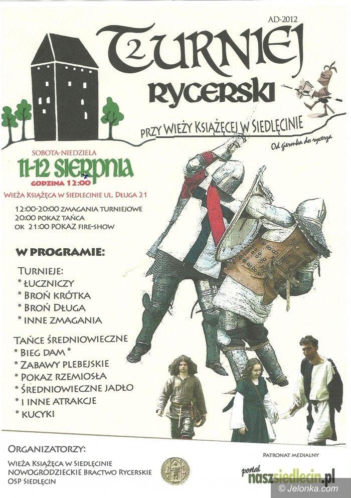 Region: Turniej rycerski przy zabytkowej wieży