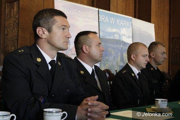 Jelenia Góra: Podziękowania dla strażaków za ciężką walkę z lipcową nawałnicą