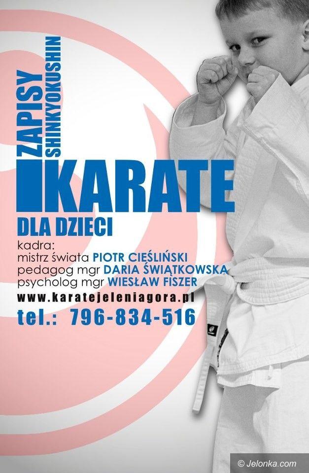 Jelenia Góra: Bezpłatne karate dla dzieci