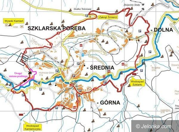 Region: Trasą rowerową nr 3 w Szklarskiej Porębie jeździmy (trochę) inaczej