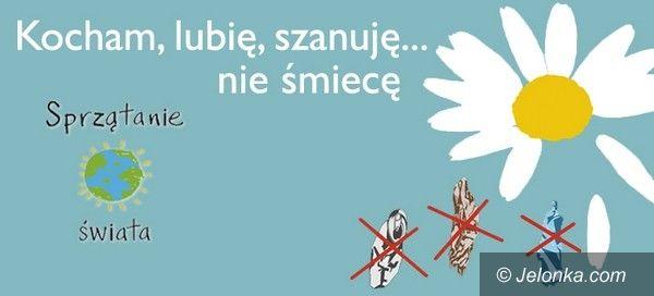 Jelenia Góra: Kocham, lubię, szanuję…nie śmiecę. W weekend sprzątanie świata