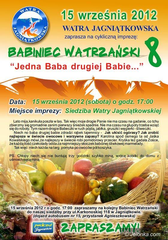 Jagniątków: Już jutro Babiniec Watrzański