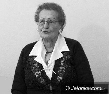 Jelenia Góra: Nie żyje Jadwiga Kuźmicz, zasłużona nauczycielka wielu pokoleń