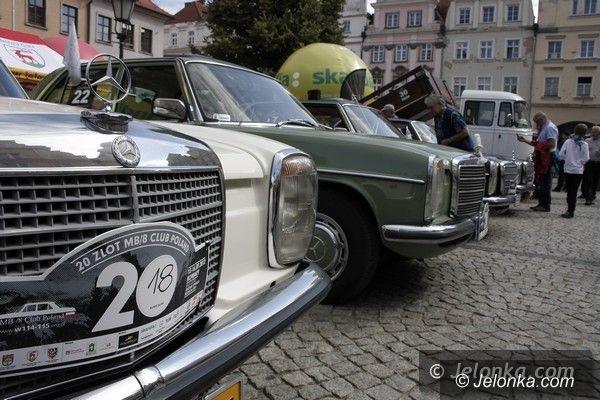 Jelenia Góra: Wspaniałe maszyny na Placu Ratuszowym