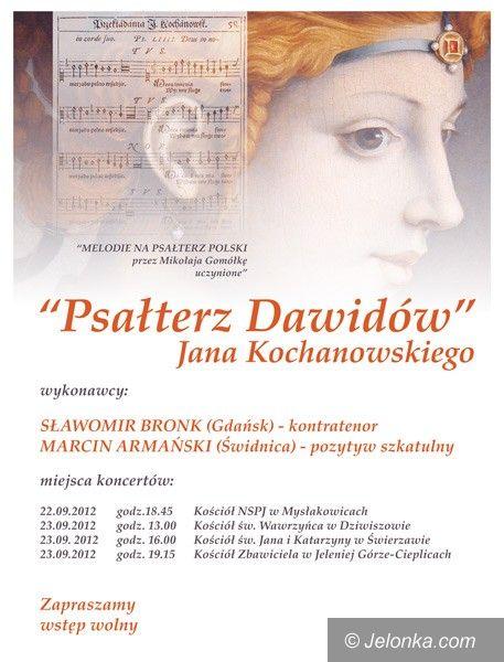 Region: Cykl koncertów organowych Psałterz Dawidów – w weekend