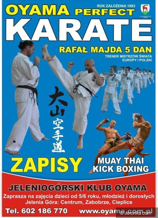 Jelenia Góra: Zawodnicy Oyama Perfect Karate szykują się do startów