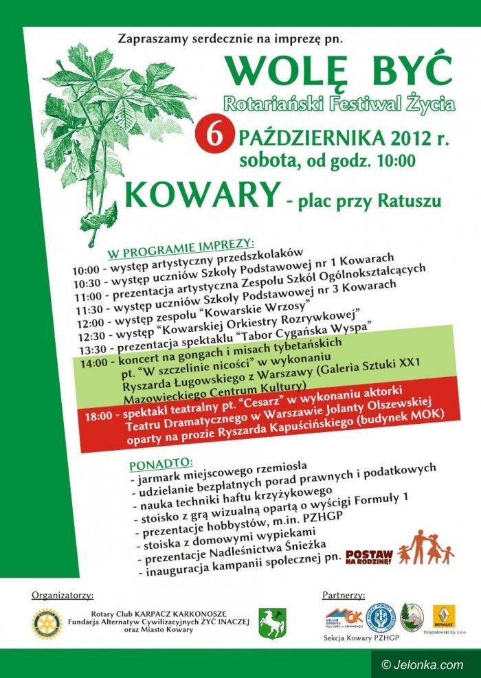 Region: Wolę Być – Rotariański Festiwal Życia