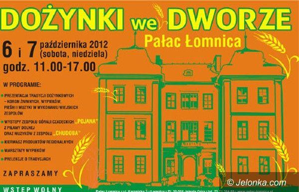 Region: W weekend pałacowe dożynki w Łomnicy
