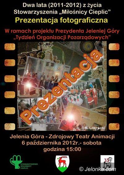 Jelenia Góra: Dwa lata Miłośników Cieplic na fotografiach