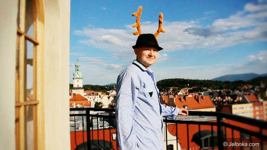 Jelenia Góra: Leniwiec promuje Jelenią Górę