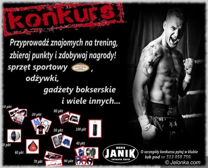 Jelenia Góra: Nabór do klubu Janik Boks, czekają nagrody!