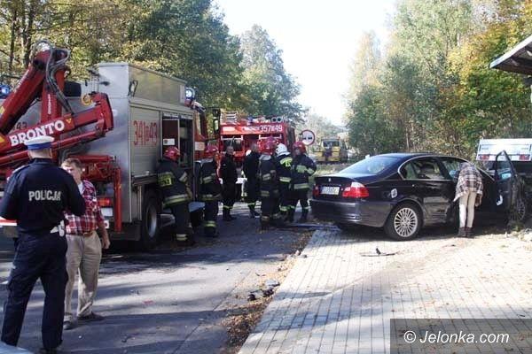 Region: Dwa auta zderzyły się na K–30 koło Rybnicy