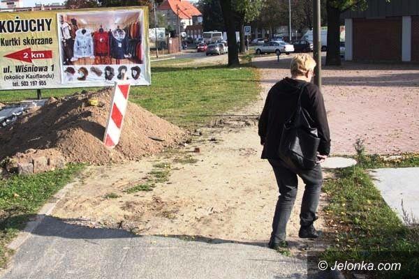 Jelenia Góra: Czytelnik: Remont przejścia przy ul. Sobieskiego to partactwo