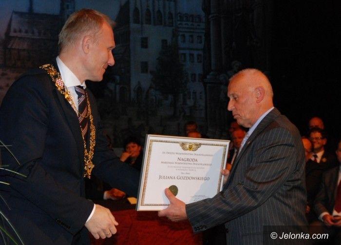 Legnica: Nagroda dla Juliana Gozdowskiego
