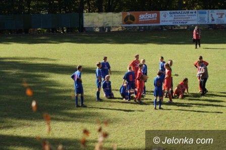 Jelenia Góra: Jeleniogórskie derby młodych piłkarzy na remis