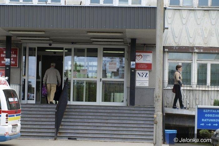 Jelenia Góra/region: Jeleniogórski szpital ograniczył przyjęcia na większość oddziałów