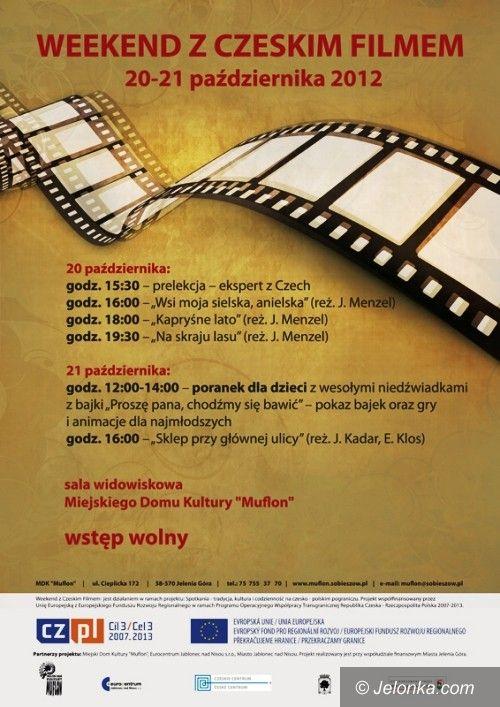 Jelenia Góra/Sobieszów: Weekend z czeskim filmem w